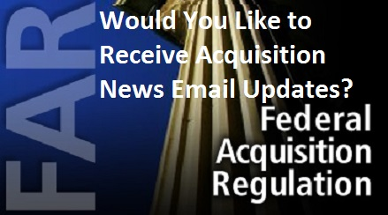 Acquisition News - Subscribe Now!