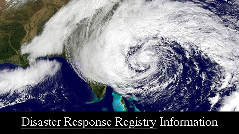 Disaster Response Registry Information